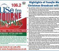 Highlights of Fusefm Mourne's Christmas Broadcast